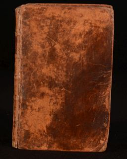 1792 Latin English and English Latin Dictionary William Young