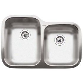 Blanco Kitchen Sink Norstar Double Bowl Undermount Stainless Steel