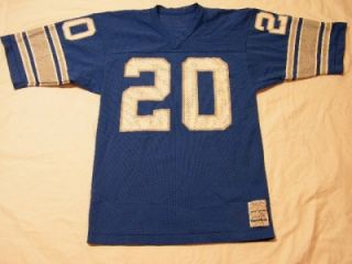 Vintage 1970s Sand Knit Billy Sims Detroit Lions #20 NFL Football