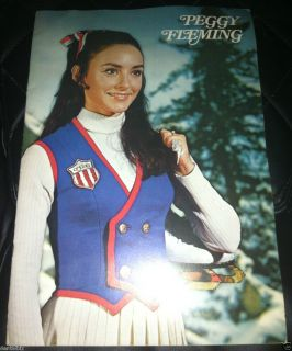 Peggy Fleming Olympic Ice Skate Skating Skater Biography Book
