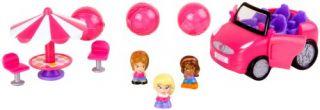 blip toys squinkies barbie car playset
