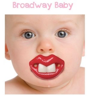 Billy Bob Broadway Baby Big Front Teeth Pacifier dummy pacy