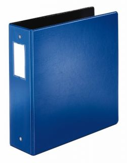 Cardinal Easyopen Locking Round Ring Binder, Letter Size, 3 Capacity