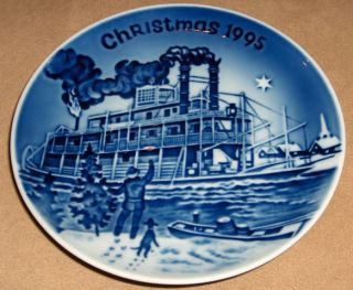 1995 Bing & Grondahl Christmas in America CHRISTMAS EVE MISSISSIPPI