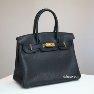 authentic 30cm hermes birkin brand new made from light weight textured