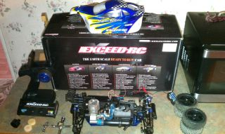 EXCEED RC 1 10 SCALE NITRO 4WD BUGGY RTR W 2 4GHZ RADIO SYSTEM AND