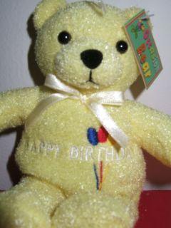 Occasion Bear Teddy Bear Plush Stuffed Animal Happy Birthday