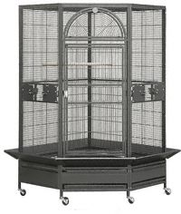 HQ PARROT BIRD CAGES 14022 Corner Cage 44x40 toy toys cockatoos