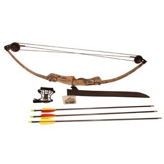 SA Sports Beginner Archery Youth Bison Recurve Compound Bow Jr Full