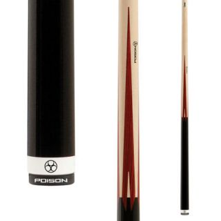 Predator Bolt 1 Pool Cue Case Birdseye Maple Rengas Points 13mm
