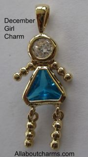 sale is this beautiful gold december girl birthstone brat charm this