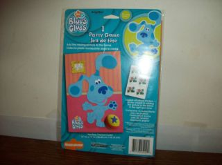 Blues Clues Birthday Party Game Like Pin The Tail on Donkey New