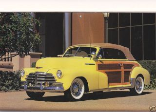 1948 Chevrolet Country Club Convertible BJ
