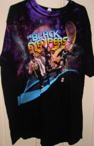Black Eyed Peas Vintage Concert Tshirt Size XL Two Sided Great