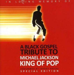 Joyous Voices Black Gospel Tribute to Michael Jackson CD New
