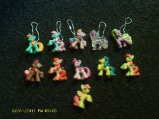 My Little Pony Custom Blind Bag Keychain Necklace Pinkie Pie