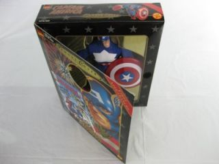 Covers Captain America 8 Avengers Action Figure 1999 Toy Biz