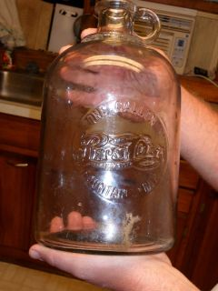 Antique Pepsi Cola One Gallon Fountain Syrup Bottle