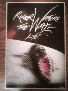 Roger Waters The Wall 2010 VIP Poster Lithograph 88 of 2500