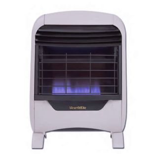Hearthrite Blue Flame Vent Free Natural Gas Wall Heater
