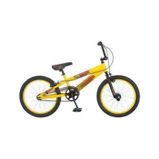 Gold Mongoose Boys Kids Off Road BMX Freestyle Bike Bicycle