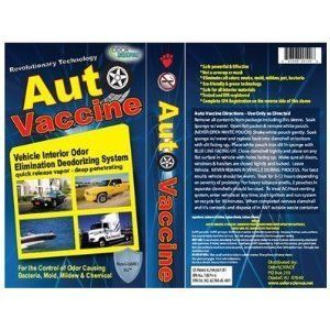 Auto Vaccine Odor Eliminator Car RV Boat camper Trailer
