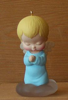 Marys Angels Bluebell 2 1989 Hallmark Ornament No Box
