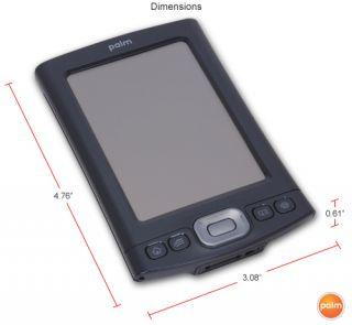 128MB Palm OS 5 4 Wi Fi Bluetooth w Hard Case Good Condition