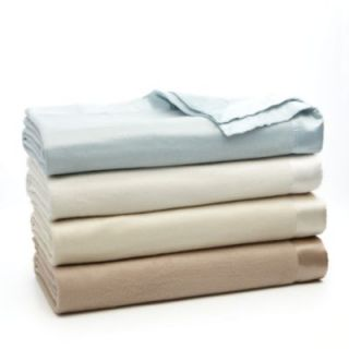 BLOOM AT HOME CHELSEA Silk Blanket KING Taupe