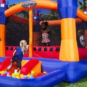 blast zone ball kingdom outdoor bounce house