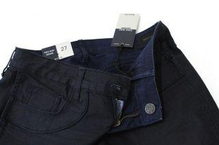 New Bleulab Womens Two Way Denim Skinny Stretch Jeans in Dark Blue US