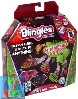 Blingles Theme Pack Shimmering Candy Girls Kids Craft Kit