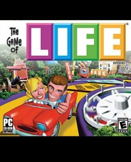 Game of Life CD Age 8 Classic Board Game Software Windows 95 98 XP