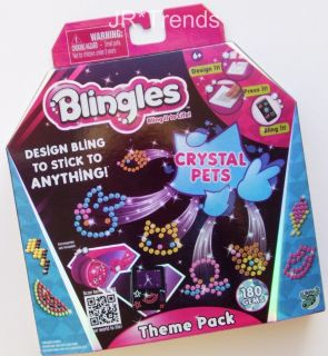 Blingles Crystal Pets Theme Pack! Create Your Own Bling Designs NEW