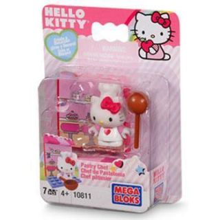 Sanrio Hello Kitty Pastry Chef Mega Blok Mini Figure