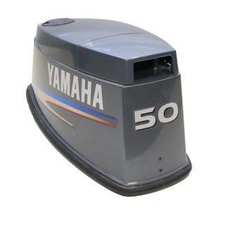 Yamaha 50 HP Outboard Boat Motor Engine Cowling