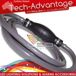 Boat Marine Grade Outboard Fuel Line Primer Bulb Kit