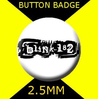 Blink 182 Logo Button Badge 25mm CD 3