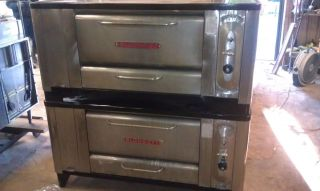 BLODGETT 1000 Double Deck Gas Pizza Oven Re Done Perfect Stones