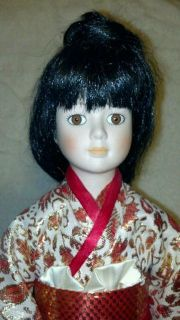 Beautiful Japanese Porcelain Doll