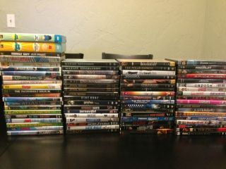 HUGE LOT of DVDs Entire TV seasons Trilogies Blockbusters over 70