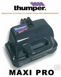 New Thumper Maxi Pro Professional Power Body Massager