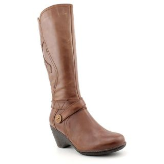 Blondo Leana Womens Size 10 Brown Leather Fashion Knee High Boots