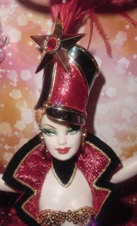 Bob Mackie Circus Barbie In Shipper With Mattel Catalog NRFB