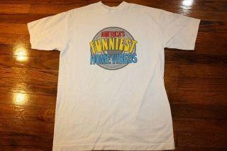 Vtg 90s Americas Funniest Home Videos T Shirt Bob Saget