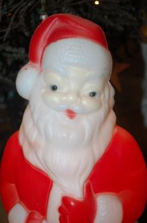 Carolina Blow Mold Santa Claus Lighted Christmas Outdoor Yard Decor