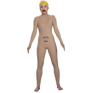 Ladies Womens Inflatable Blow Up Woman Doll Adult Fancy Dress Costume