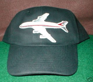 Boeing 747 Airplane Aircraft Aviation Hat with Emblem Low Profile