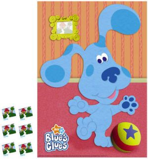 Blues Clues Room Birthday Supplies Party Game