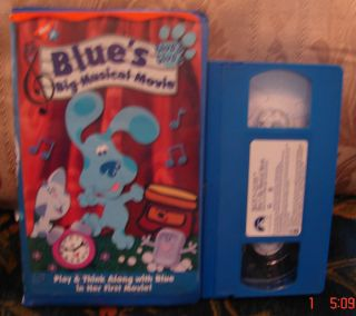 158186940 blues clues blues big musical movie vhs ship 1 video 3 jpg